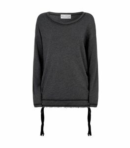 Jena Lace-Up Sweatshirt