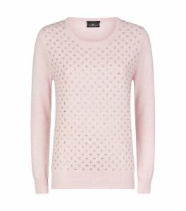 Swarovski Embellished Cluster Sweater