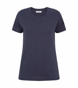 Cotton Logo Sleeve T-Shirt