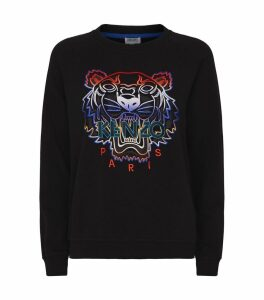 Ombré Icon Tiger Sweater