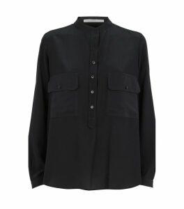 Estelle Silk Crepe de Chine Shirt