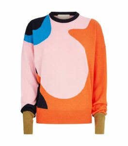 Wool Abstract Azura Sweater