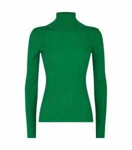Roberta Long Sleeve Ribbed Turtleneck Top