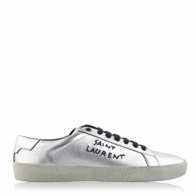Saint Laurent Embroidered Sneakers