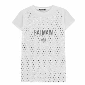Balmain Sequin T Shirt