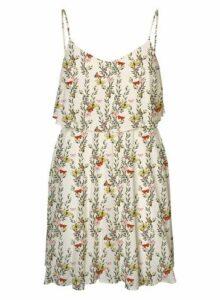Womens Vero Moda White Floral Print Camisole Dress - Multi, Multi
