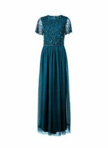 Womens Showcase Tall Forest Green Tina Maxi Dress, Green