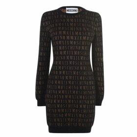 Moschino Moschino Knit Logo Dress