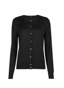 Womens **Tall Black Cardigan, Black