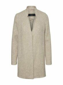 Womens **Vero Moda Grey Long Sleeve Jacket, Grey