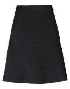 HERVÉ LÉGER SKIRTS Knee length skirts Women on YOOX.COM