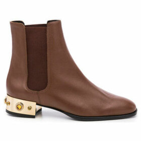 Cuplé  -  women's Low Ankle Boots in Brown