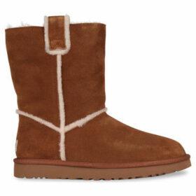 UGG  Short Spill Seam Chestnut  women's Snow boots in Brown