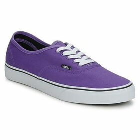 Vans  AUTHENTIC  women's Shoes (Trainers) in Purple