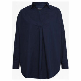 French Connection  Long sleeve oversize shirt  women's Shirt in Blue