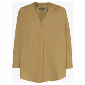 French Connection  Long sleeve oversize shirt  women's Shirt in Beige