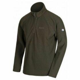 Regatta  Great Outdoors Mens Kenger Half Zip Honeycomb Fleece  women's Sweater in Brown