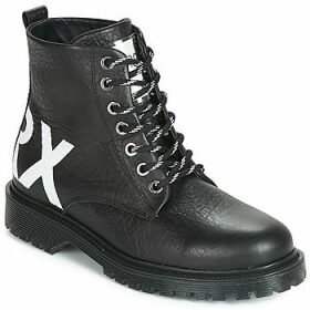 Bronx  RIFKA CHUNKY  women's Mid Boots in Black