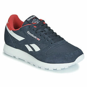 Reebok Classic  CL LEATHER MU  women's Shoes (Trainers) in Blue