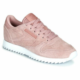 Reebok Classic  CL LTHR RIPPLE  women's Shoes (Trainers) in Pink