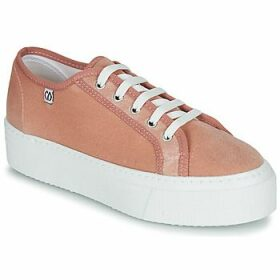 Yurban  SUPERTELA  women's Shoes (Trainers) in Pink