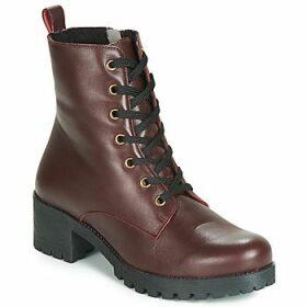 Betty London  LOUIZA  women's Low Ankle Boots in Red