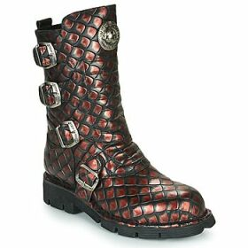 New Rock  -  women's Mid Boots in multicolour
