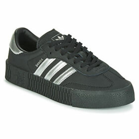 adidas  SAMBAROSE W  women's Shoes (Trainers) in Black