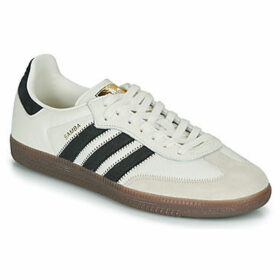 adidas  SAMBA OG FT  women's Shoes (Trainers) in Beige