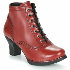 Art  HARLEM  women's Low Ankle Boots in Red