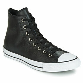 Converse  CHUCK TAYLOR ALL STAR  LEATHER HI  women's Shoes (High-top Trainers) in Black