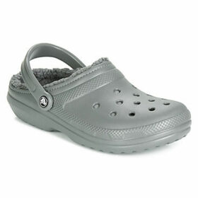 Crocs  CLASSIC LINED CLOG  women's Clogs (Shoes) in Grey