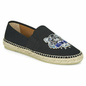 Kenzo  ESPADRILLE ELASTIQUE TIGER HEAD  women's Espadrilles / Casual Shoes in Black