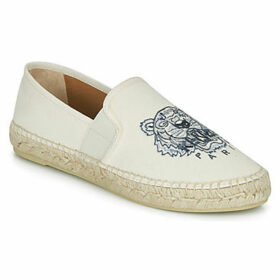 Kenzo  ESPADRILLE ELASTIQUE TIGER HEAD  women's Espadrilles / Casual Shoes in White