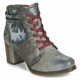 Mustang  1286507-4  women's Low Ankle Boots in Grey