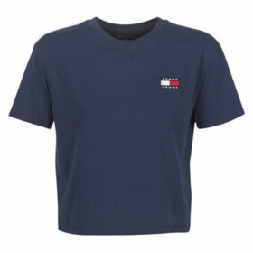 Tommy Jeans  TJW TOMMY BADGE TEE  women's T shirt in Blue