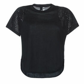 adidas  DZ8656  women's T shirt in Black