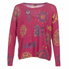 Desigual  UPPER  women's Sweater in Red