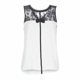 Naf Naf  OCORAZON T1  women's Blouse in White