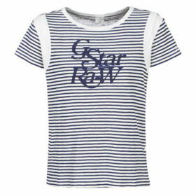 G-Star Raw  FIRN  women's T shirt in White