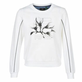 G-Star Raw  GRAPHIC 21 XZULA R SW WMN LS  women's Sweatshirt in White
