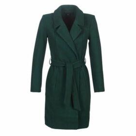 Only  ONLREGINA  women's Coat in Green
