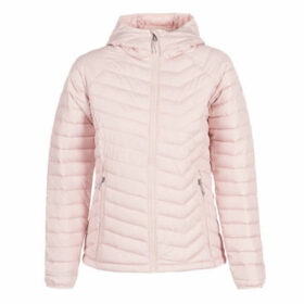 Columbia  POWDER LITE HOODED JACKET  women's Jacket in Pink