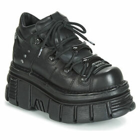 New Rock  M-106N-C52  women's Shoes (Trainers) in Black