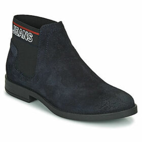 Tommy Jeans  CORPORATE ELASTIC CHELSEA BOOT  women's Mid Boots in Blue