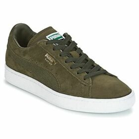 Puma  SUEDE CLASSIC +  women's Shoes (Trainers) in Green