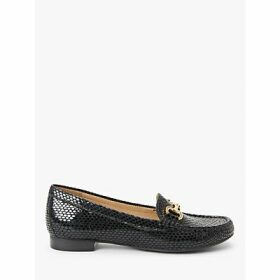 John Lewis & Partners Austin Leather Buckle Moccasins