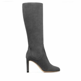 TEMPE 85 Dusk Suede Leather Knee Boots