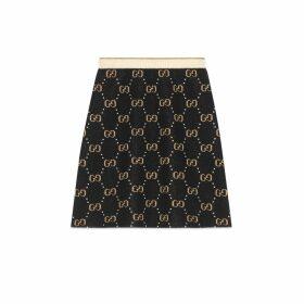 GG wool knit skirt