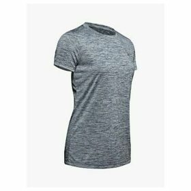 Under Armour Tech Twist Training Top, Grey/Silver